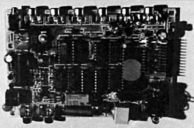 The AVT Interface board.