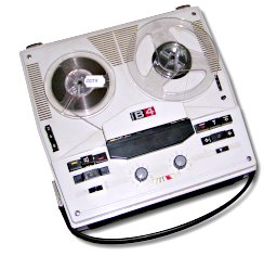 Reel-to-reel tape.